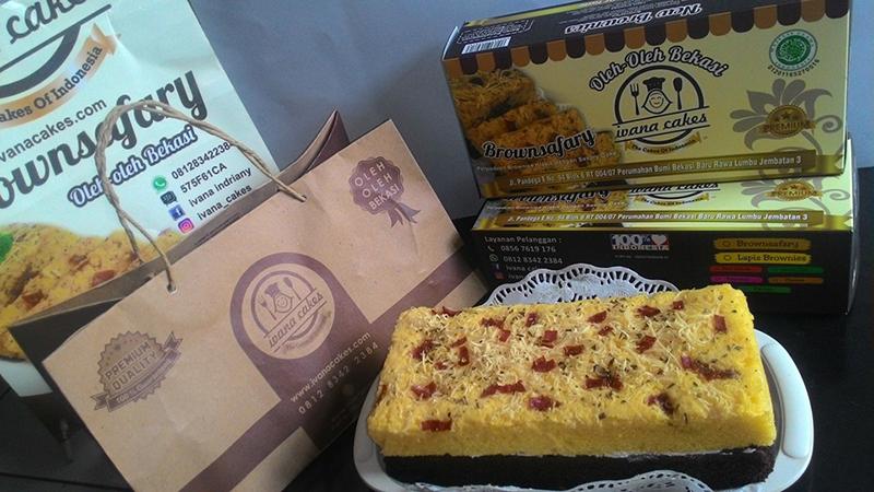 Salah Satu Produk Kue Bolu dari Ivana Cakes