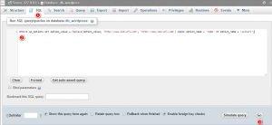 SQL Konfigurasi Ulang WordPress Ke Domain Baru