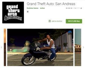 Cheat GTA San Andreas Android Langsung Tamat