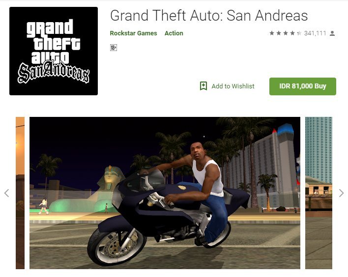Cheat GTA San Andreas Android Langsung Tamat