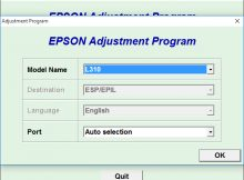 Download Resetter Printer Epson L310