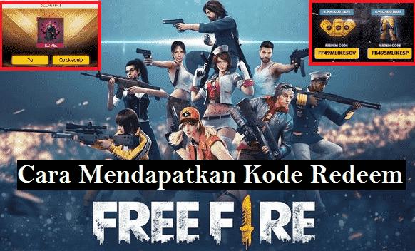 Kode Redeem Free Fire Gratis