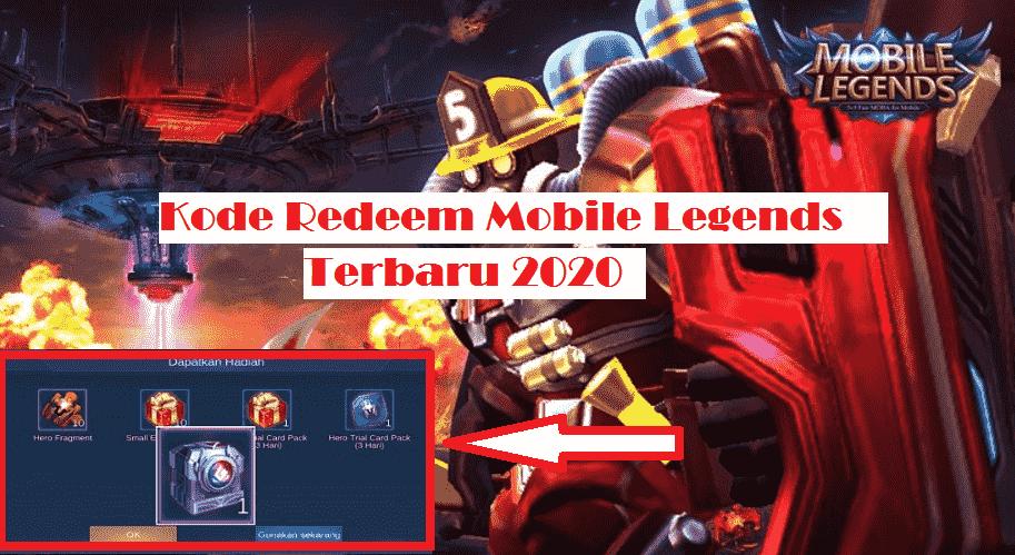 Kode Redeem Mobile Legends