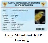 KTP Burung