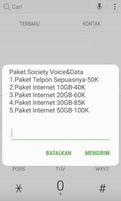 telkomsel paket society