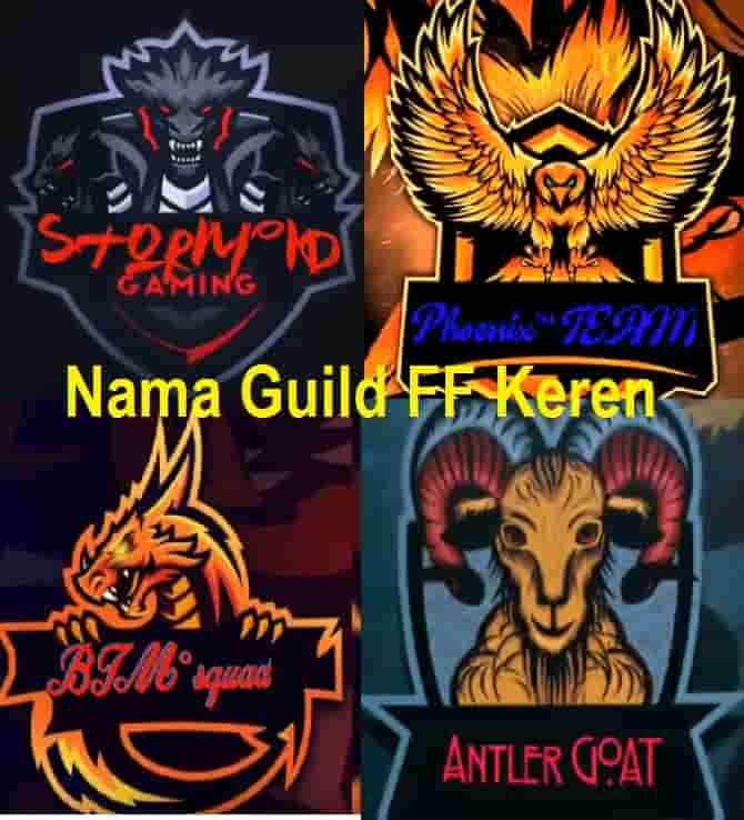 Nama Guild Ff Keren Terbaru 2020