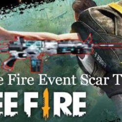 Free Fire Event Scar Titan