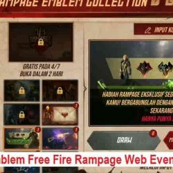 Kode Emblem Free Fire Rampage