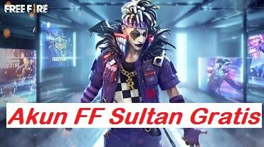 Akun Free Fire Sultan Gratis
