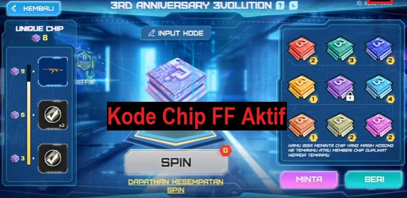 Kode Chip Free Fire