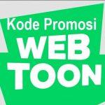 Kode Promosi Webtoon