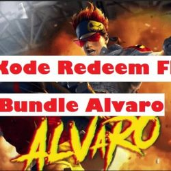 Kode Redeem FF Bundle Alvaro