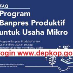Login www.depkop.go.id