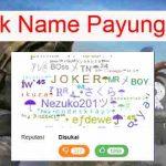 Nama Payung FF