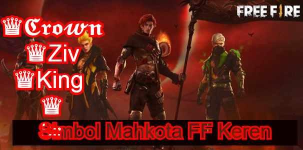 Simbol Mahkota FF